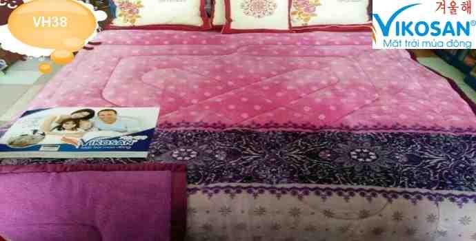 Chăn lông cừu 3D VH38 hàng liên doanh Việt Nam Hàn Quốc