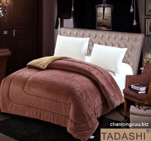 chăn lông cừu nhật bản TADASHI màu Nâu sô cô la
