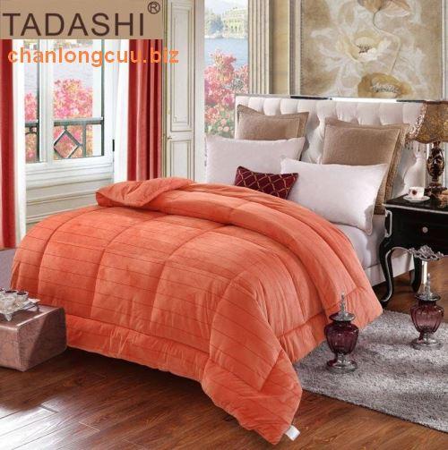 chăn lông thỏ nhật bản Tadashi màu hồng