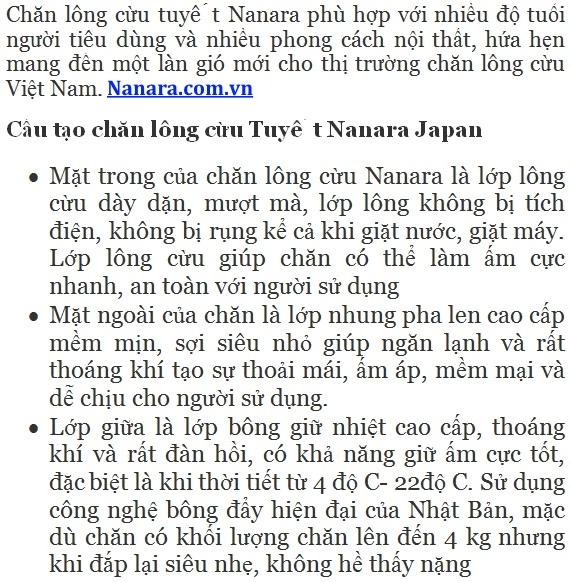 chan-long-cuu-tuyet-nanara-nhat-ban