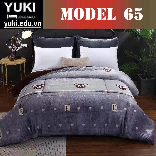 Chăn lông cừu Yuki Japan Brow model 65