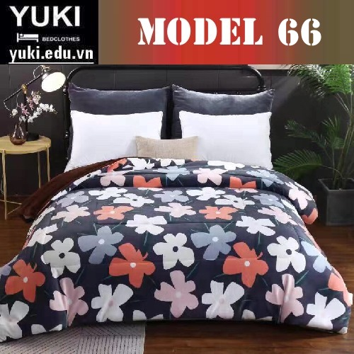 Chăn lông cừu Yuki Japan Brow model 66